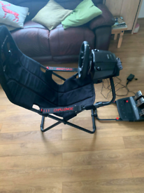 Playseat challenge chair & Logitech G920 wheel and pedals