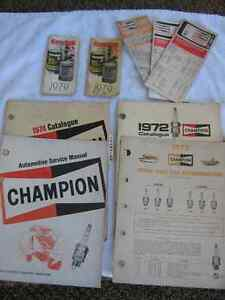 2 Kendall Pads & Old Champion Reference Booklets