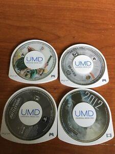 3 PSP games + 1 movie