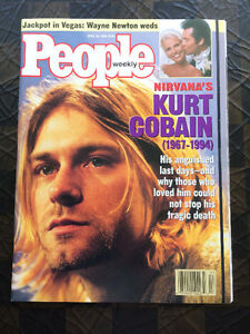 Nirvana / Kurt Cobain - magazines from 1994 events - like new