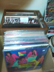 Rolling Stones and other groups LP's