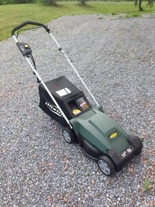 Yardwork 9A Electric lawn mower 14-in !!! Like new!!!