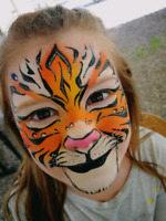 Affordable face painting, Balloon twisting and glitter