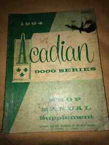 1964 Acadian shop manual