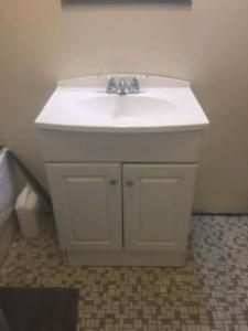 """25"""" bathroom vanity"""
