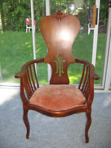 Antique chair late 1800's