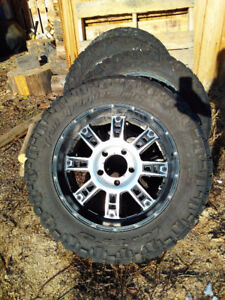 Nitto Truck Tires on rims -LT 295/55R20