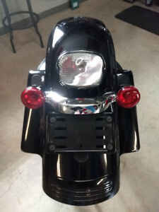 Rear Fender off 2012 FLHX Street Glide (Stock)