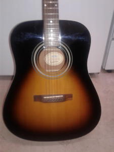 Epiphone Full size dreadnaught guitar.   First $75.00.