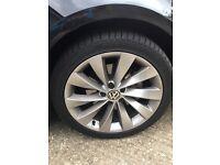Genuine VW Passat wheels