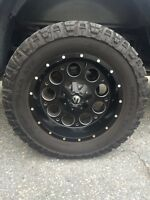 2011 and up chevrolet truck 3inch lift kit,rims and tires