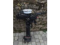 Selva 5hp outboard boat engine long shaft spares or repair