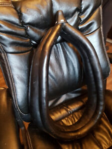 2 New Leather Show Pony Collars with Posts