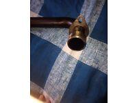 Pipe for a cbf125