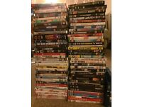 Massive collection of DVDs and blue Ray's