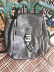 Gorgeous authentic Coach black backpack in new condition!