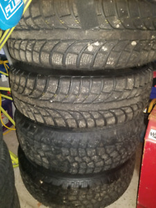 4 Snow Tires and Rims 215/65R17