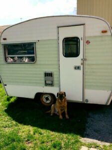 Sprite 400 Vintage Travel Trailer