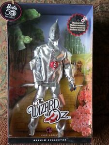 The Wizard of Oz Barbie 50th Anniversary Tin Man  Musical Doll