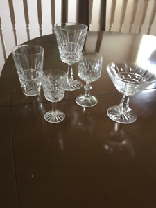 Waterford Crystal - Kylemore Pattern - 17 Pieces