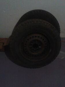 Nordic winter tires and rims