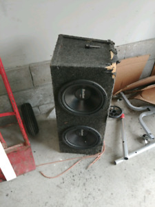 "2 10"" boston acoustic subs"