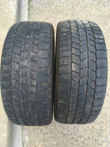 2 PNEUS HIVER / 2 WINTER TIRES 225/45/17 CONTINENTAL