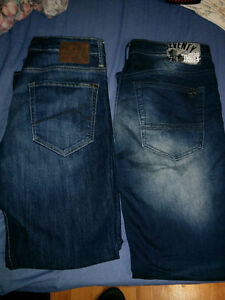 mens mavi silver and buffalo jeans