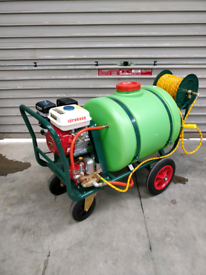 Moss Killer & Roof Cleaner- Soft wash chemical application machine engine driven