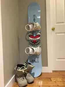 Board, boots and bindings