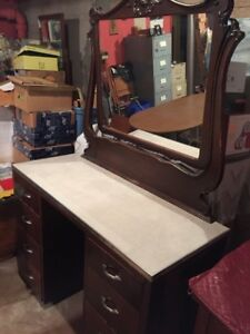 Antique Island Made Dressing Table