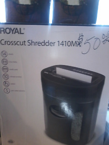 Royal crosscut shedder