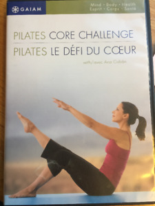 Gaiam Yoga, Pilates and dance dvd´s