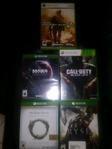 Xbox one/360 games for trade