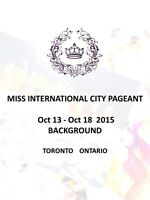 2015 Miss International Ville Pageant Candidats (Prix $ 1000)
