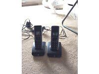 Pair of wireless phones