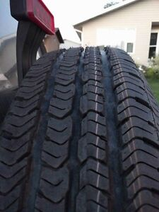 225/75/R16 Goodyear Wranglers and rims