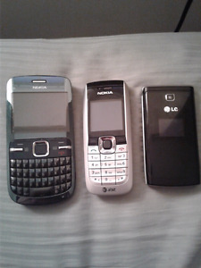 Old phones for sale