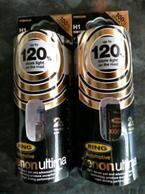 2pak X 2 Headlight Bulbs H1 RW1248