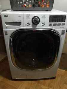 LG WM3997HWA combined Washer Dryer 5.0 Cubic feet Capacity