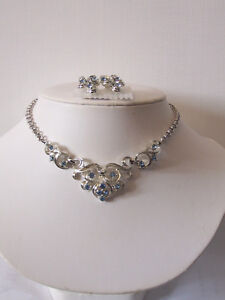 Coro Choker & Earring Set