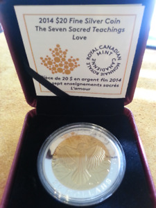 Seven Sacred Teachings - Love Coin - 2014