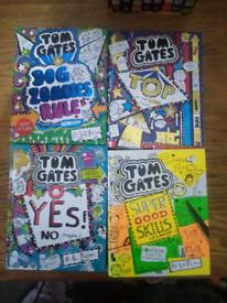 4 brand new Tom Gate hard back books