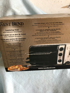 WEST BEND COUNTER TOP TOASTER OVEN WITH ROTISSERY