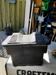 Craftsman Lawn tractor battery box