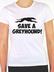 Greyhound T Shirts Rescue Save A Greyhound Rescu...