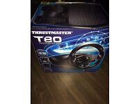 T80 Steering Wheel PS4