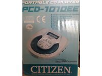 Portable CD player (never used)