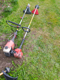 Two petrol Strimmers spares or repairs