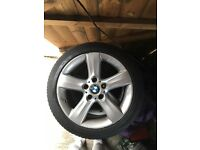 E46 bmw alloys wheels 225 45 17 inch 5x120